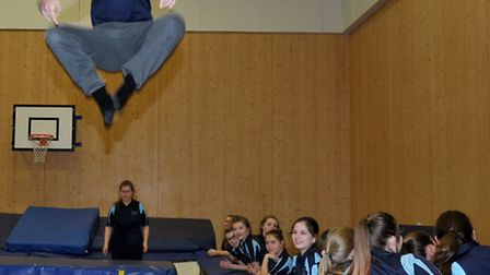 Thomas Clarkson Academy.Trampoline world record attempt - in aid of Billy Lee and other fun events.