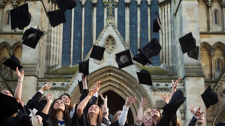 The University of Hertfordshire has traditionallly held graduation ceremonies at St Albans Cathedra