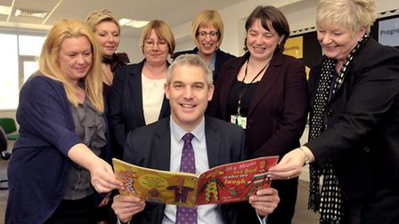 MP Steve Barclay has given his backing to Wisbech Reads.