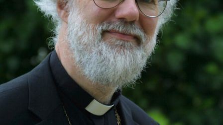 The former Archbishop of Canterbury, Dr Rowan Williams