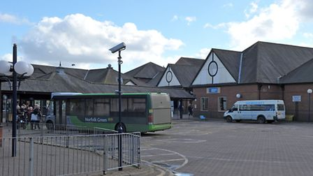 Wisbech Bus Station. Picture: Steve Williams.