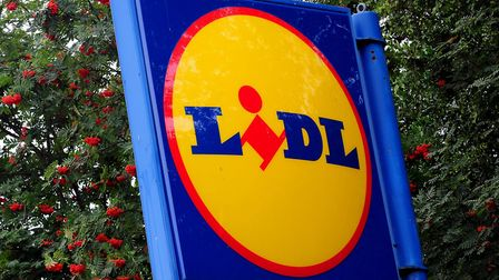 A sign for Lidl. Photograph: Rui Vieira/PA.
