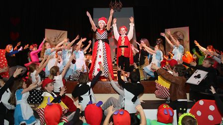 Magdalene House pupils put on a production of Alice