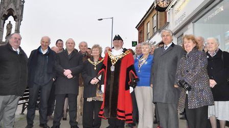 Dann's Clock was passed into the care of the town's people.