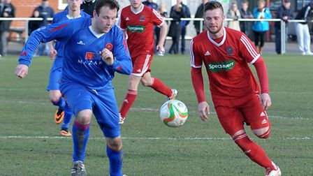 Wisbech football v AFC Kempston Rovers. Picture: Steve Williams.