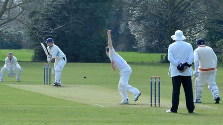 MCC match at Wisbech cricket club.Picture: Steve Williams.
