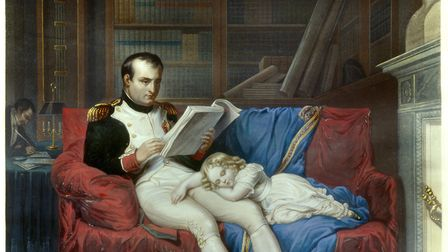 Napoleon was fond of the Ossian poems by James Macpherson. (Photo by: Christophel Fine Art/Universal