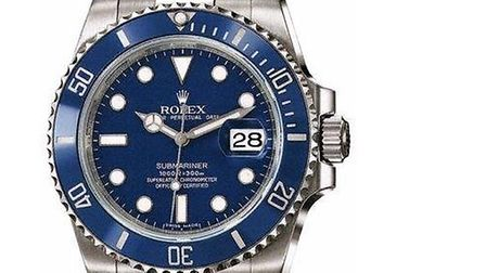 Police are still looking for a Rolex watch like this one