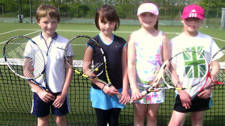 Players from LK Tennis Academy, based in Wisbech, took on Ely Tennis club.