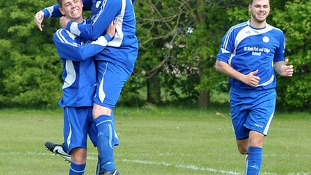 Outwell Swifts v Godmanchester Rovers Reserves. Picture: Steve Williams.