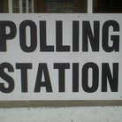 A polling station in Welwyn