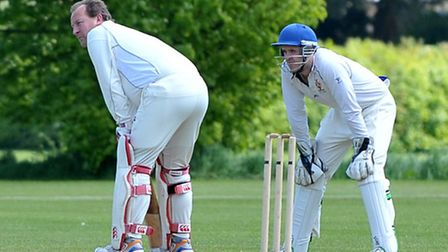 Wisbech seconds cricket v Old Leysians. Picture: Steve Williams.