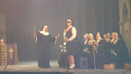 Potters Bar Theatre Company's production of Sister Act at the Wyllyotts Theatre