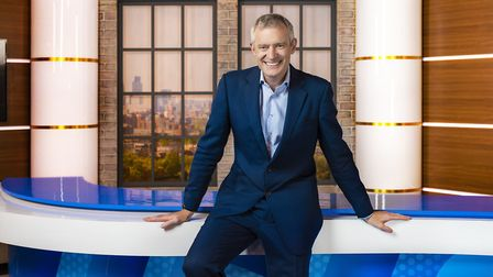 Jeremy Vine on his Channel 5 show. Photograph: Channel 5.