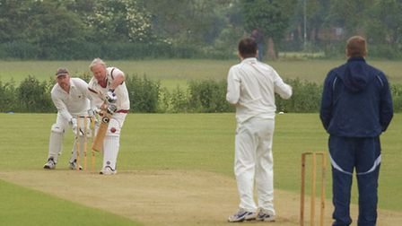 Wisbech thirds cricket v Little Downham; Picture: Barry Giddings.