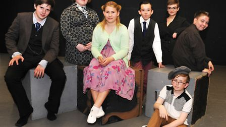 Students at Thomas Clarkson Academy who will perform in the play The Secret Code. Picture: ROB MORRI