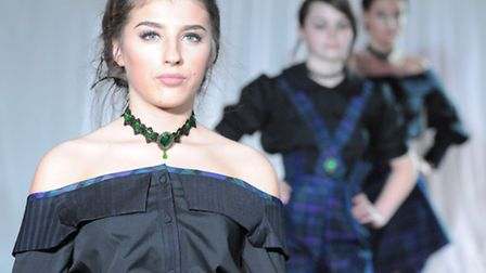 College of West Anglia Fashion Show at Elme Hall Hotel, Wisbech. Picture: ROB MORRIS