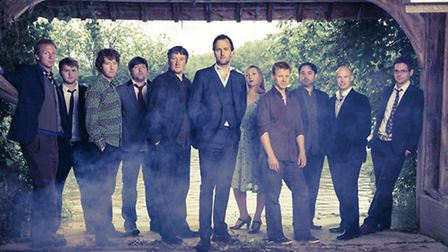 Bellowhead are splitting up but fans can still see them play Folk by the Oak 2015 at Hatfield House