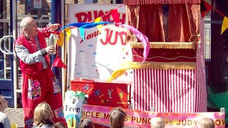 The Uncle Mick Punch and Judy show will be at the Horsefair Summer Fun Day.
