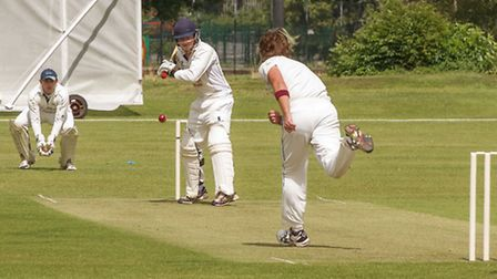 Action from Wisbech vs Foxton. Picture: BARRY GIDDINGS.
