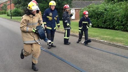 Wisbech firefighters building young peoples' confidence