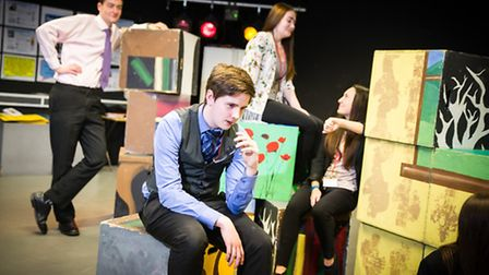 Young actors from Thomas Clarkson Academy. Picture: PAUL TIBBS.
