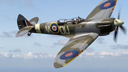 A Spitfire takes to the skies