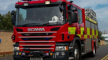Arson attack in Wisbech today
