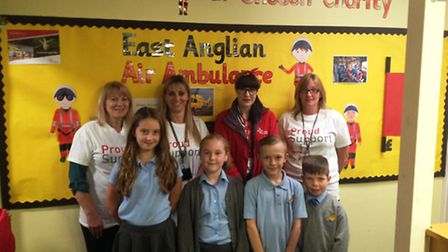 This school year, Emneth Primary School in Wisbech has chosen East Anglian Air Ambulance (EAAA) as i
