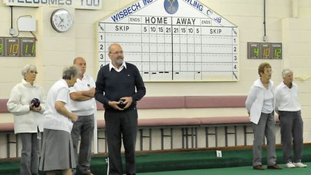 Wisbech indoor bowls club. Picture: Steve Williams.