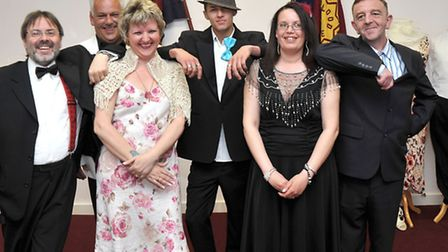 The Salvation Army's charity shop in Wisbech held its first fashion show last May. Picture: Steve Wi