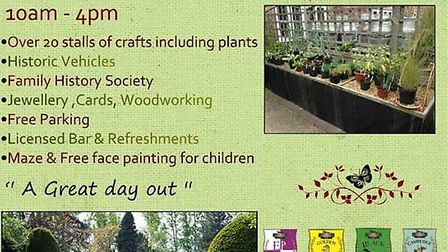 Elgood's craft and plant fair takes place next month