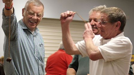 A previous year's Wisbech Lions Conker Championships. Picture: ROGER RAWSON.