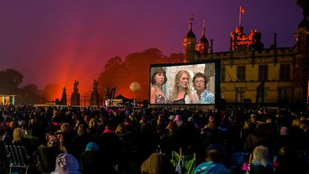 The Luna Cinema will be screening Mamma Mia! at Knebworth House