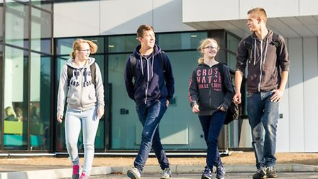 Hundreds of eager new students are starting their journey in further education at the new-look Colle