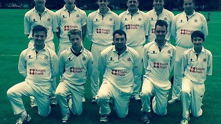 Wisbech cricket seconds are CCA Senior Division Two champions.