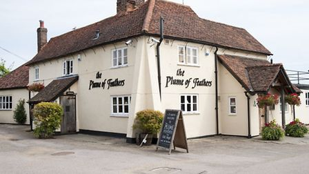 The Plume of Feathers in Tewin