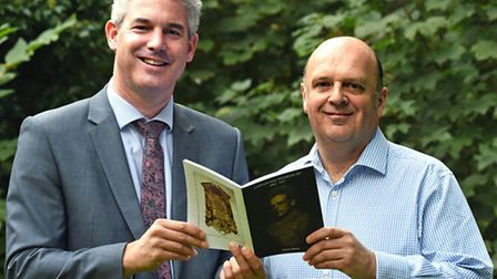 Martin Gibson book launch with MP Steve Barclay