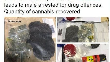 Wisbech man arrested for drug offences