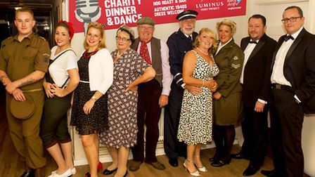 1940s Dinner and Dance raises over £3,000 for Luminus Ferry Project