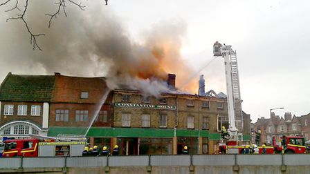 The fire was severely damaged by fire in March 2010.