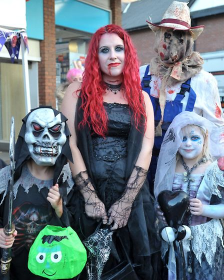 Wisbech Town Centre's Spooktacular Halloween Event. Picture: Steve Williams.