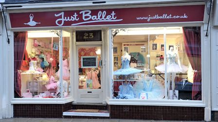 Sheila Baleem has opened Just Ballet at 23 Hill Street, Wisbech, Picture: Steve Williams.