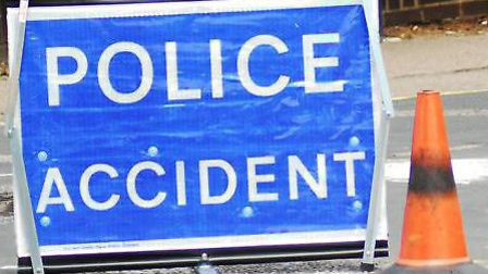 Three car collision on the A47 between Wisbech and Guyhirn