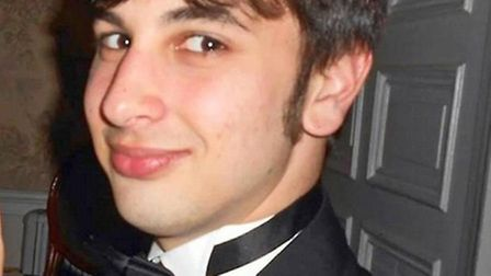 Elliott Johnson, from Wisbech, who apparently took his own life in September.