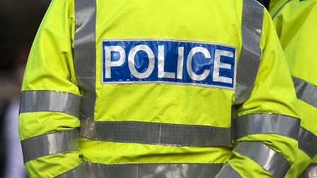 Two men detained after fleeing car crash on A141 Rings End