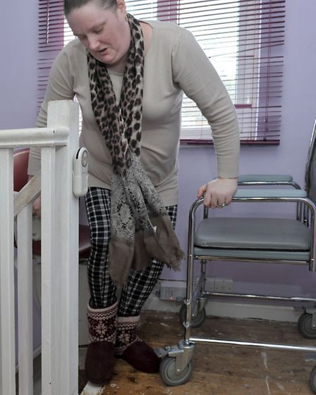 Keith and Tanya jakes need a downstairs bathroom as both are disabled and struggle to get upstairs.