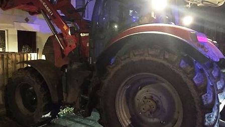 Police hunting for man after fleeing abandoned tractor in Wisbech