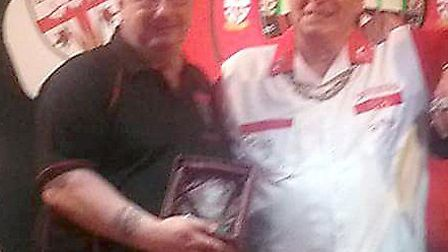 Dennis Harbour, who has made it through to the quarter-finals of the BDO World Darts Championships,