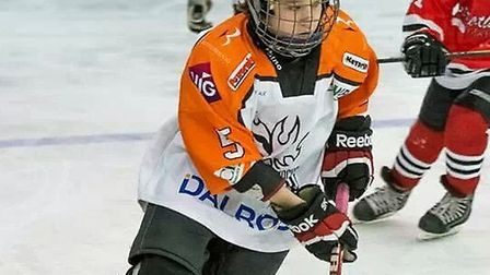 Ross Clarke has been selected to represent England's under 14 Ice Hockey team.
